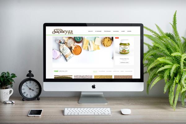 Saçı Beyaz Yöresel Gıda – Web Tasarım