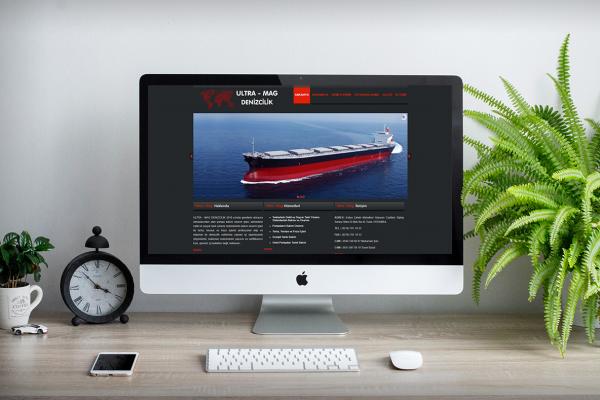 Ultra-Mag Denizcilik – Web Tasarım